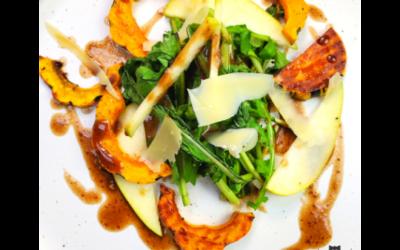 Watercress Salad+Ginger Golden Apple+ Comte Cheese